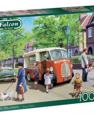 The Milkman - puzzel 1000 stuks - Falcon 11324