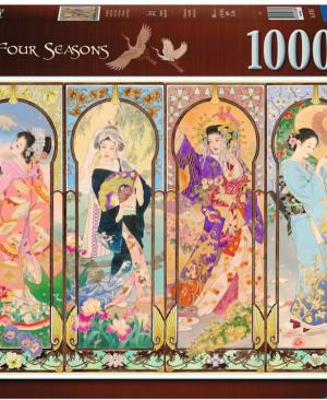 De vier seizoene - puzzel 1000 stuks - Ravensburger 167685