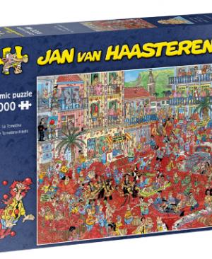 Die Tomatenschlacht - puzzel 1000 stuks - Jan van Haasteren 20043