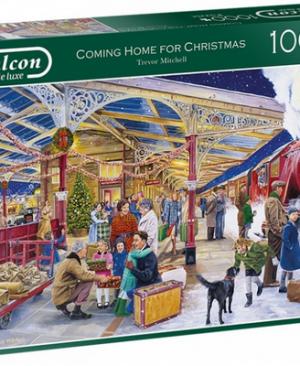 Coming home for Christmas - puzzel 1000 stuks - Falcon