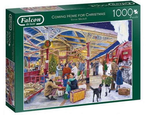 Coming home for Christmas – puzzel 1000 stuks – Falcon