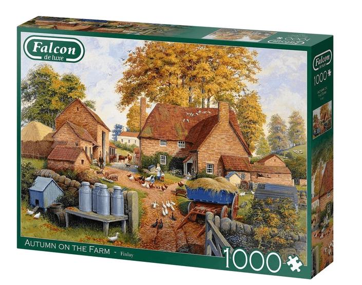 Autumn on the farm – puzzel 1000 stuks – Falcon
