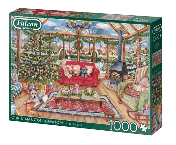Christmas Conservatory – puzzel 1000 stuks – Falcon