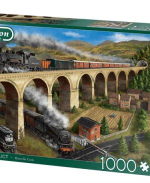 The viaduct - puzzel 1000 stuks - Falcon
