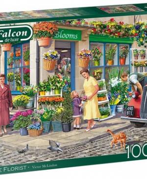 The florist - puzzel 1000 stuks - Falcon