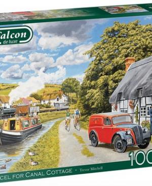Parcel for canal cottage - puzzel 1000 stuks - Falcon