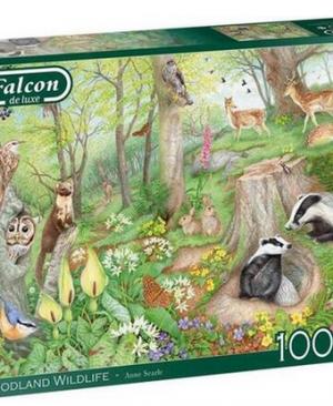 Woodland wildlife - puzzel 1000 stuks - Falcon