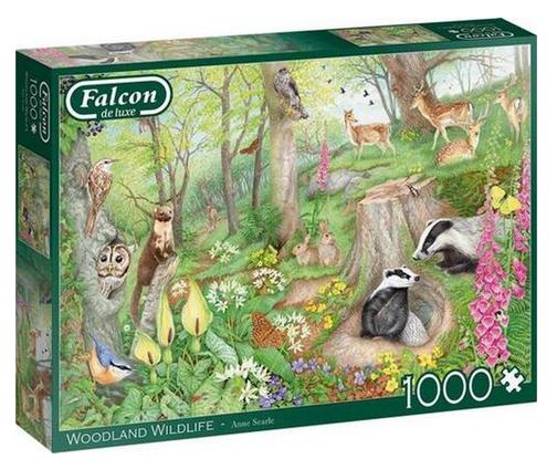 Woodland wildlife – puzzel 1000 stuks – Falcon