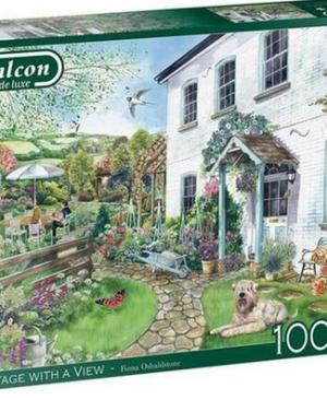Cottage with a view - puzzel 1000 stuks - Falcon