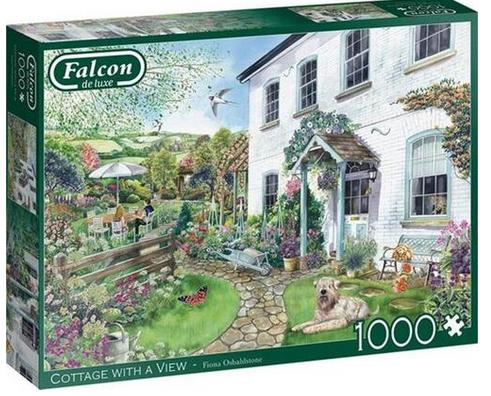 Cottage with a view – puzzel 1000 stuks – Falcon