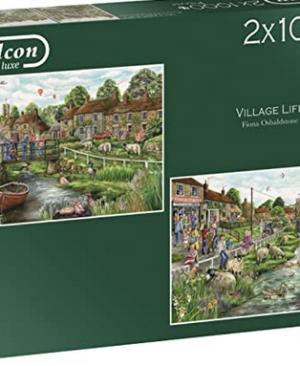 Falcon - Village Life (2X1000 Stukjes)