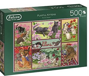 Playful Kittens - puzzel 500 stuks - Falcon