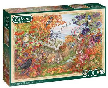 Autumn Hedgerow – puzzel 500 stuks – Falcon