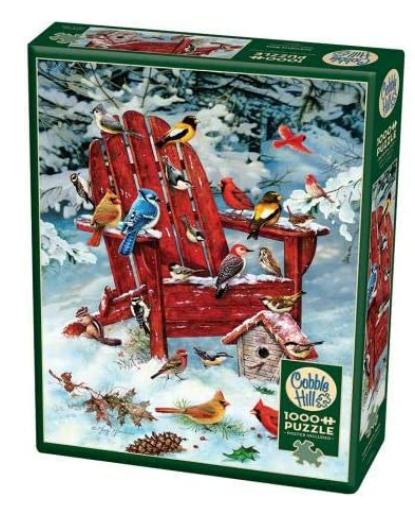 Adirondack Birds – puzzel 1000 stuks – Cobble Hill