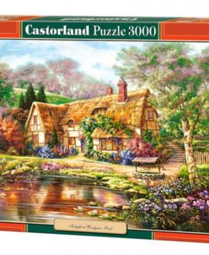 Twilight at woodgreen pond - puzzel 3000 stuks - Castorland