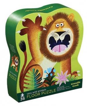 Very Wild Animals - floor puzzel 36 stuks - Crocodile Creek 714