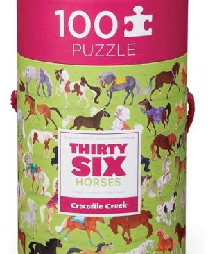 Horse dreams - leer de dieren kennen 100 stuks - Crocodile Creek 551