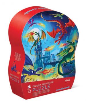 Dragon adventure - puzzel 72 stuks - Crocodile Creek 174