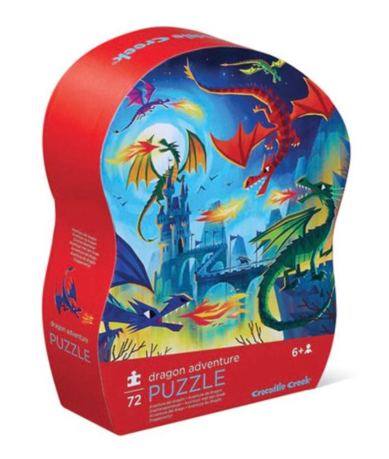 Dragon adventure – puzzel 72 stuks – Crocodile Creek 174