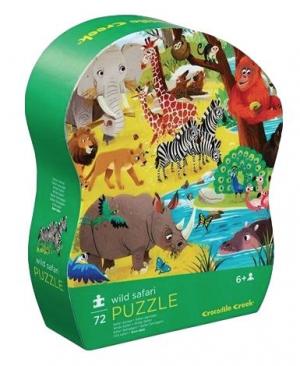Wild safari - puzzel 72 stuks - Crocodile Creek 179