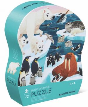 Arctic Animals - puzzel 72 stuks - Crocodile Creek 178