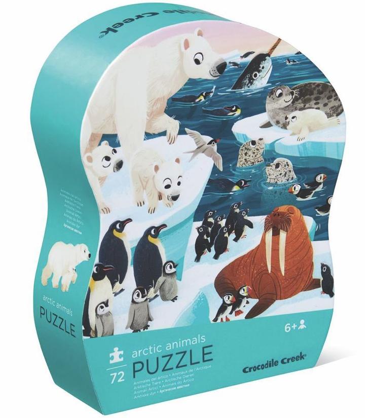 Arctic Animals –  puzzel 72 stuks – Crocodile Creek 178Schermafbeelding 2021-03-23 om 16.38.04