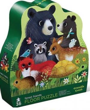 Forest friends - Floor puzzel 36 stuks - Crocodile Creek 718