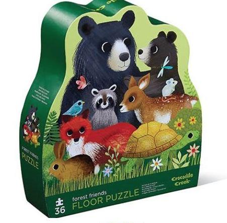 Forest friends – Floor puzzel 36 stuks – Crocodile Creek 718