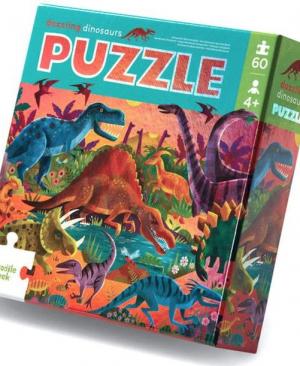 Dazzling dinosaurs - puzzel 60 stuks - Crocodile Creek 052