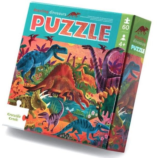 Dazzling dinosaurs –  puzzel 60 stuks – Crocodile Creek 052Schermafbeelding 2021-03-23 om 16.52.58