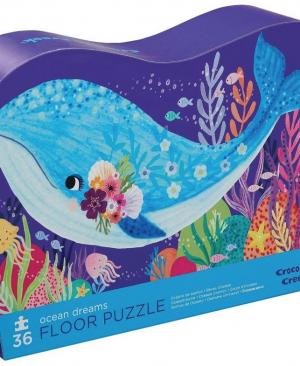 Ocean dreams - floor puzzel 36 stuks - Crocodile Creek 776