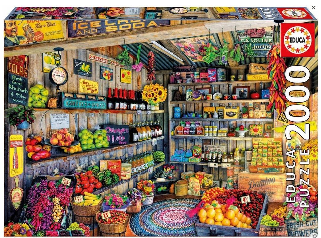 Kruidenierswinkel – puzzel 2000 stuks – Educa 17128