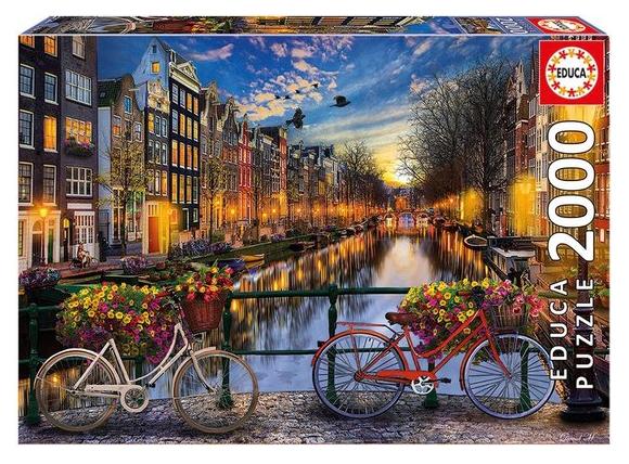 Amsterdam – puzzel 2000 stuks – Educa 17127