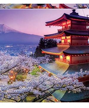 Mount Fuji , Japan - puzzel 2000 stuks - Educa 16775
