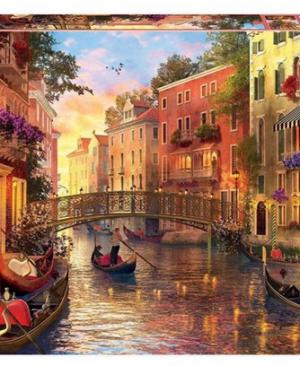Zonsondergang in Venetië - puzzel 1500 stuks - Educa 1724