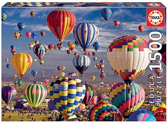 Hot Air Balloons – puzzel 1500 stuks – Educa 17977