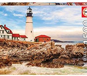 Rocky Lighthouse - puzzel 1500 stuks - Educa 17978
