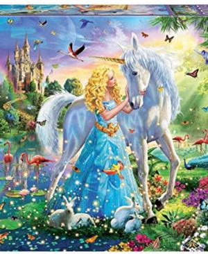Prinses en de Eenhoorn - puzzel 1000 stuks - Educa 17654