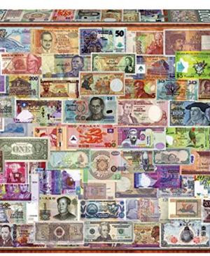 Bankbiljetten van over de Wereld - puzzel 1000 stuks - Educa 17659