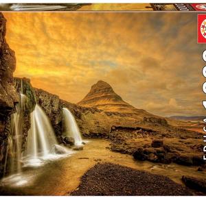 Kirkjufelsfoss Waterfall - puzzel 1000 stuks - Educa 17971