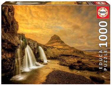 Kirkjufelsfoss Waterfall – puzzel 1000 stuks – Educa 17971 2021-04-01 om 14.31.51