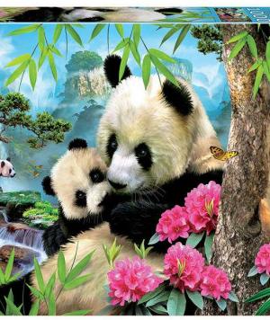 Morning Panda - puzzel 1000 stuks - Educa 17995