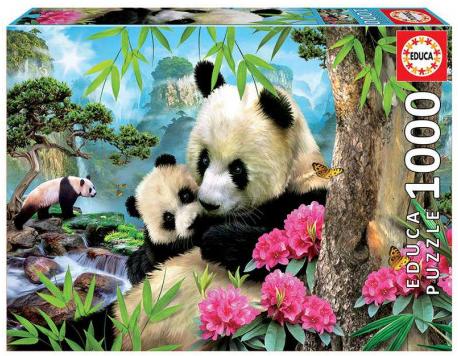 Morning Panda – puzzel 1000 stuks – Educa 17995