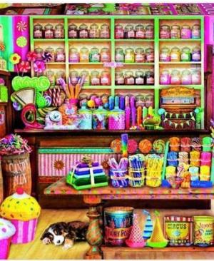 The Candy Shop - puzzel 1000 stuks - Educa 17104