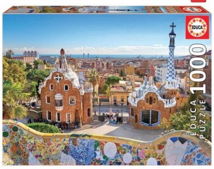 Barcelona View from Park – puzzel 1000 stuks – Educa 17966