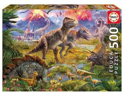 Dinosaur Gathering – puzzel 500 stuks – Educa 15969