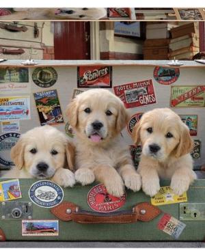Puppy Bagage - puzzel 500 stuks - Educa 17645