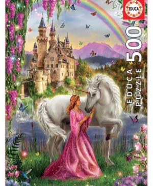Fairy and Unicorn - puzzel 500 stuks - Educa 17985