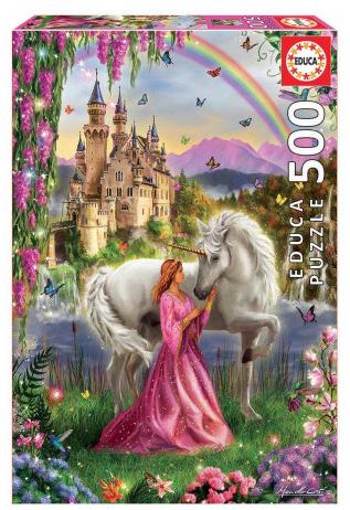 Fairy and Unicorn – puzzel 500 stuks – Educa 17985