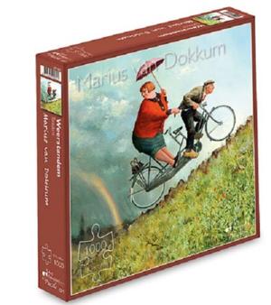 Weerstanden - puzzel 1000 stuks - Art Revisited 001